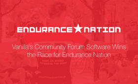 Vanilla's Community Forum Software Wins the Race for Endurance Nation