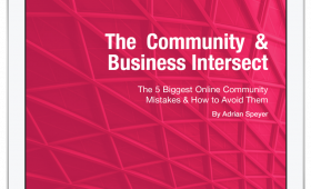 The community & business intersect