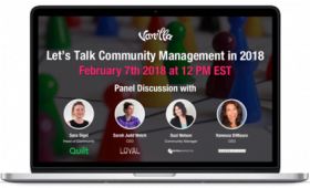 Webinar Community Management 2018
