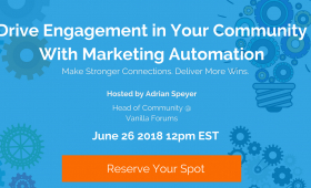 Drive More Engagement in Your Community Using Marketing Automation Tools
