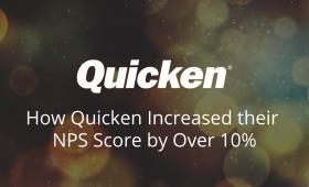 How Quicken Increased their NPS Score by Over 10%